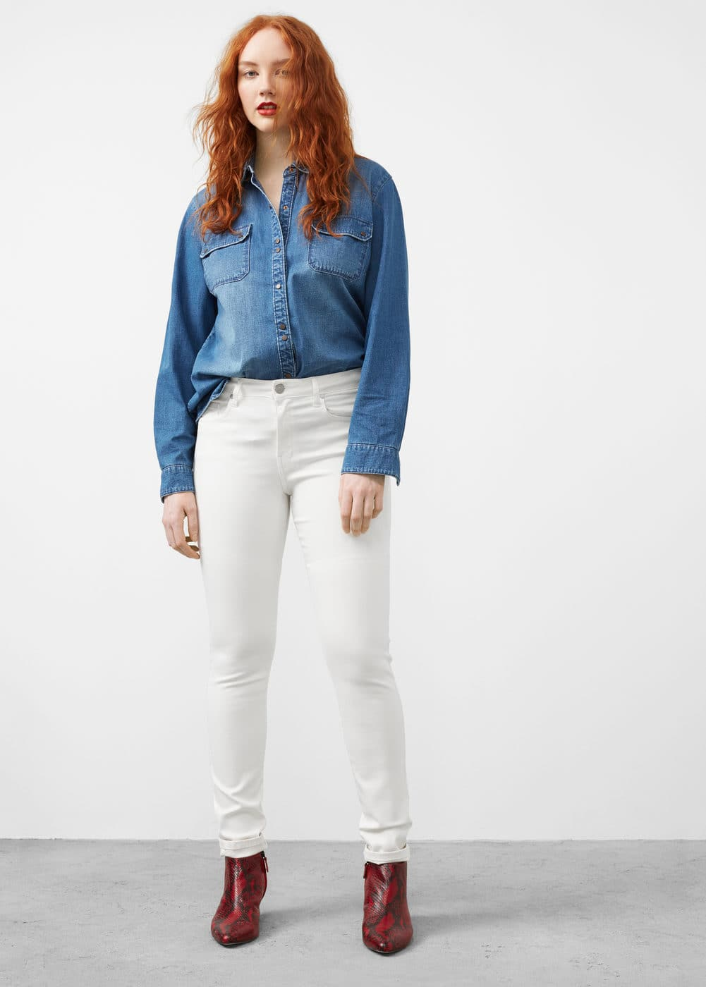 Slim-fit valentin jeans | VIOLETA BY MANGO