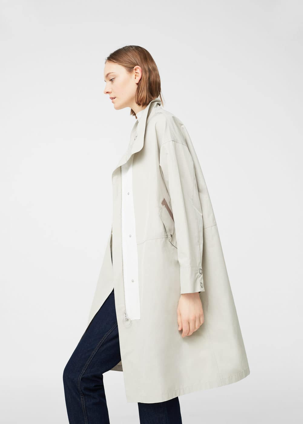 Lightweight cotton trench | MNG