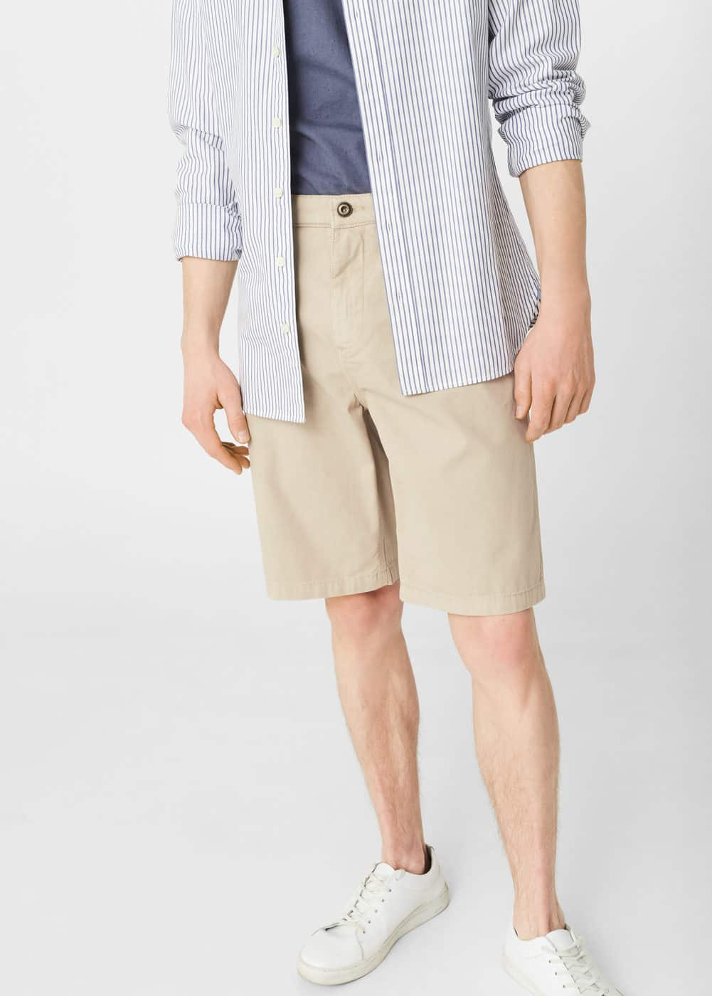 5 pocket bermuda shorts | MANGO