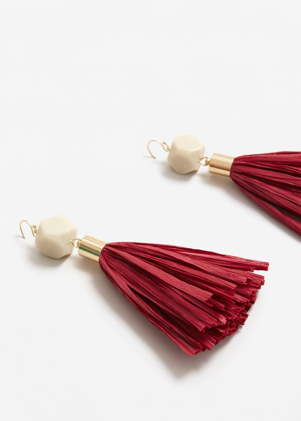 Tassels pendant earrings | MANGO
