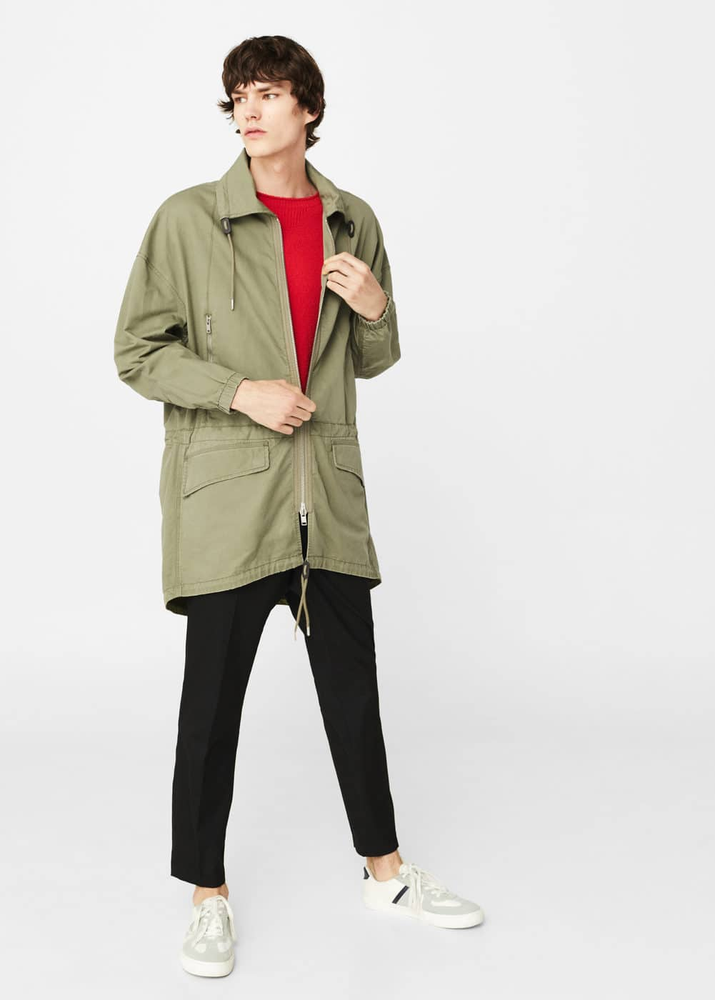 Cotton parka | MANGO