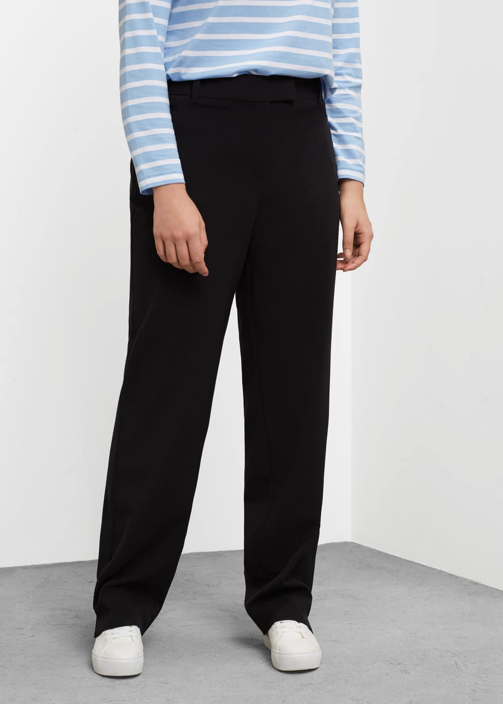 Flowy suit trousers | VIOLETA BY MANGO