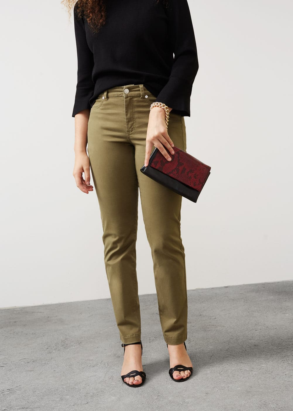 Cotton modal trousers | MANGO