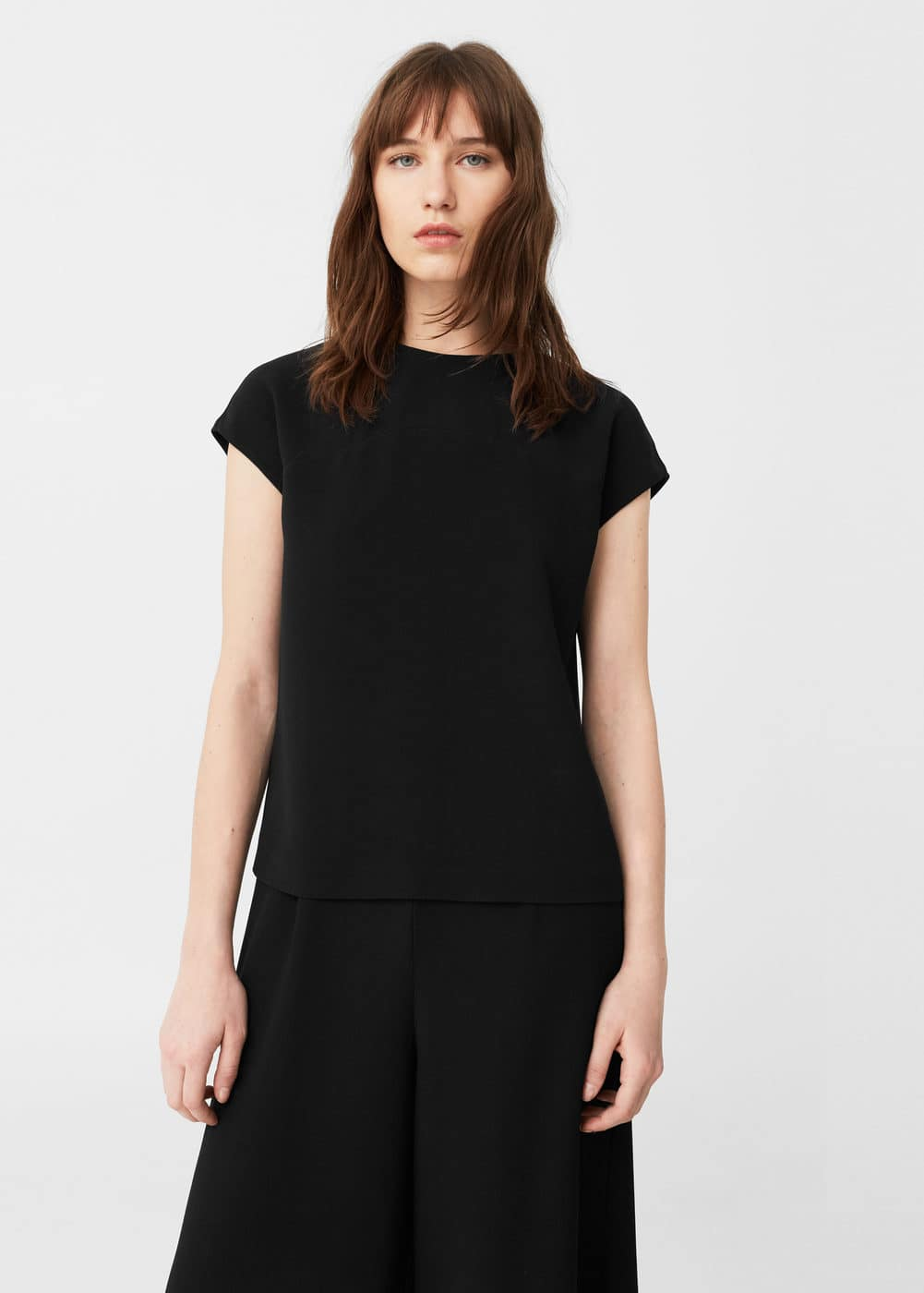 Zipped blouse | MANGO