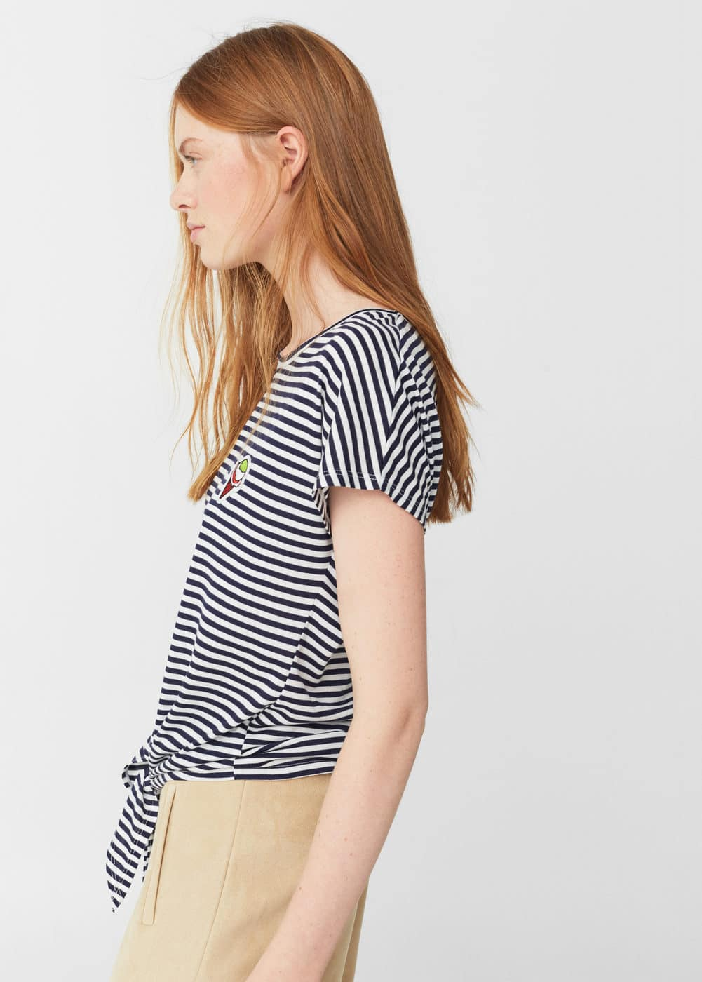 Knot detail t-shirt | MNG