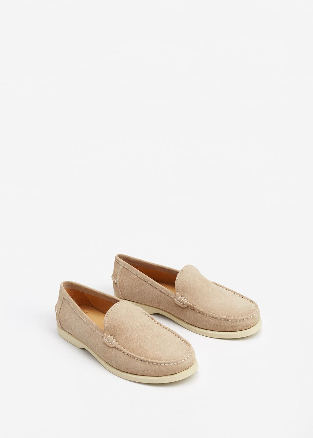 Mocassins serratge | MANGO MAN
