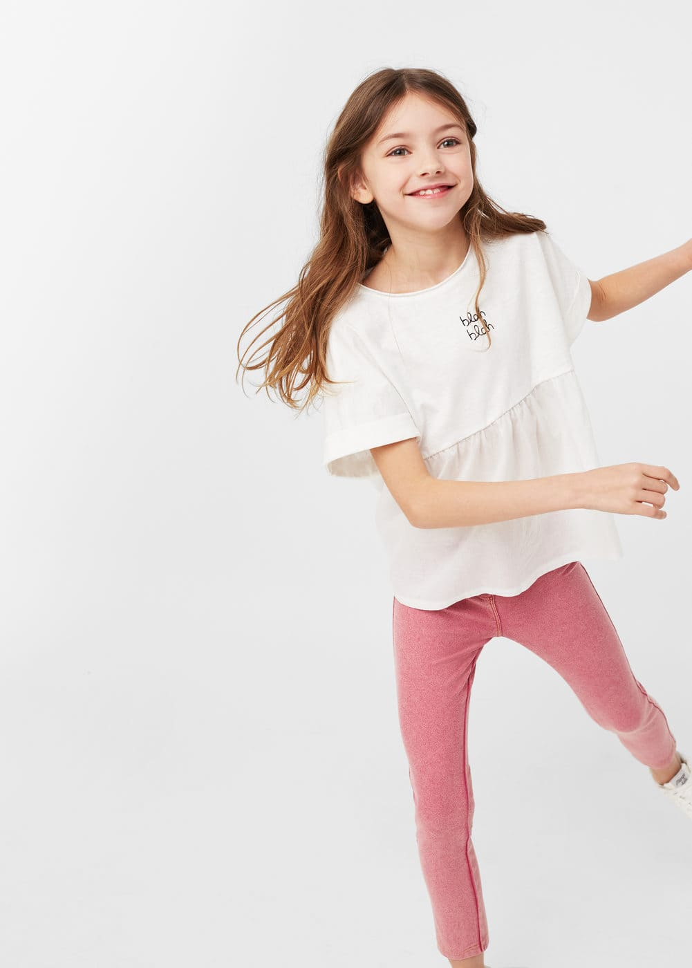 Denim leggings | MANGO KIDS