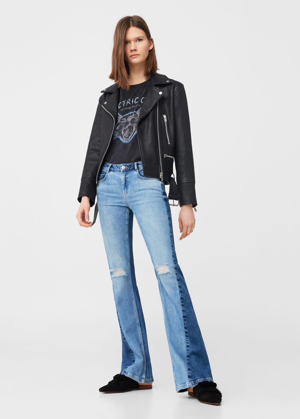 Jeans flare twotones | MNG