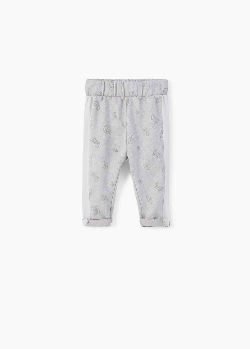 Printed jogging trousers | MANGO KIDS