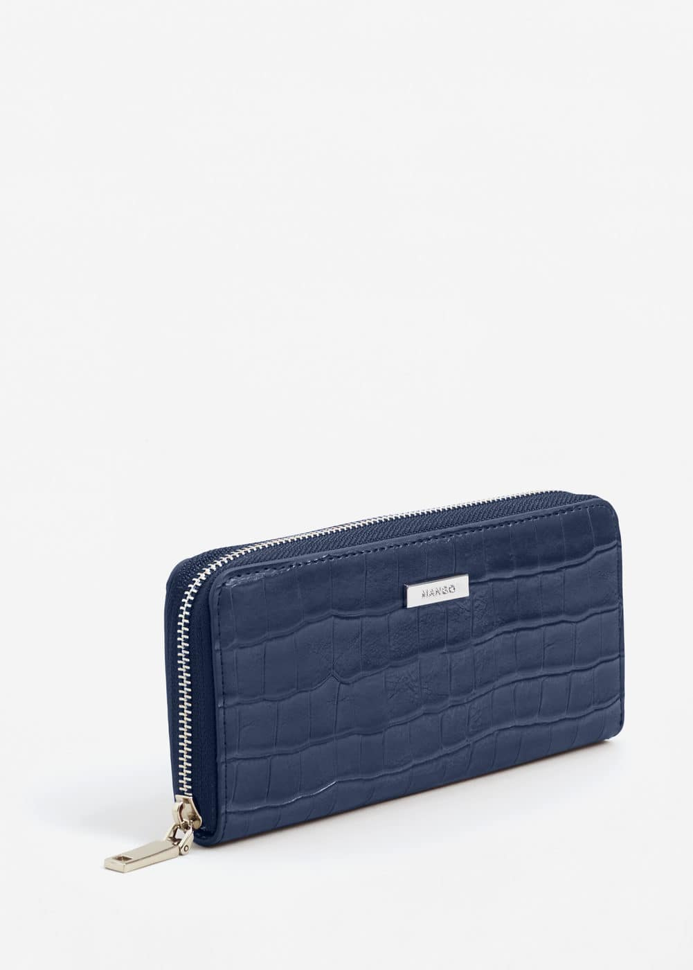 Croc-effect wallet | MANGO
