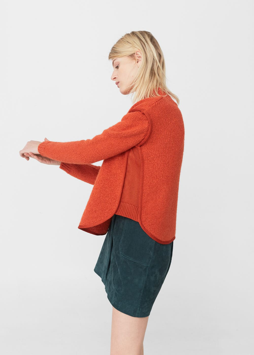 Textured panel sweater | MNG