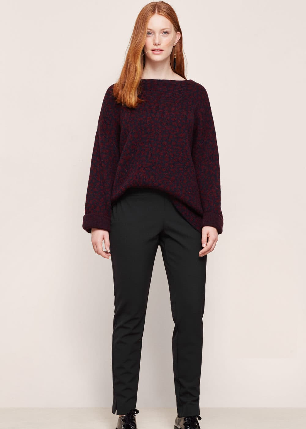 Straight trousers | VIOLETA BY MANGO
