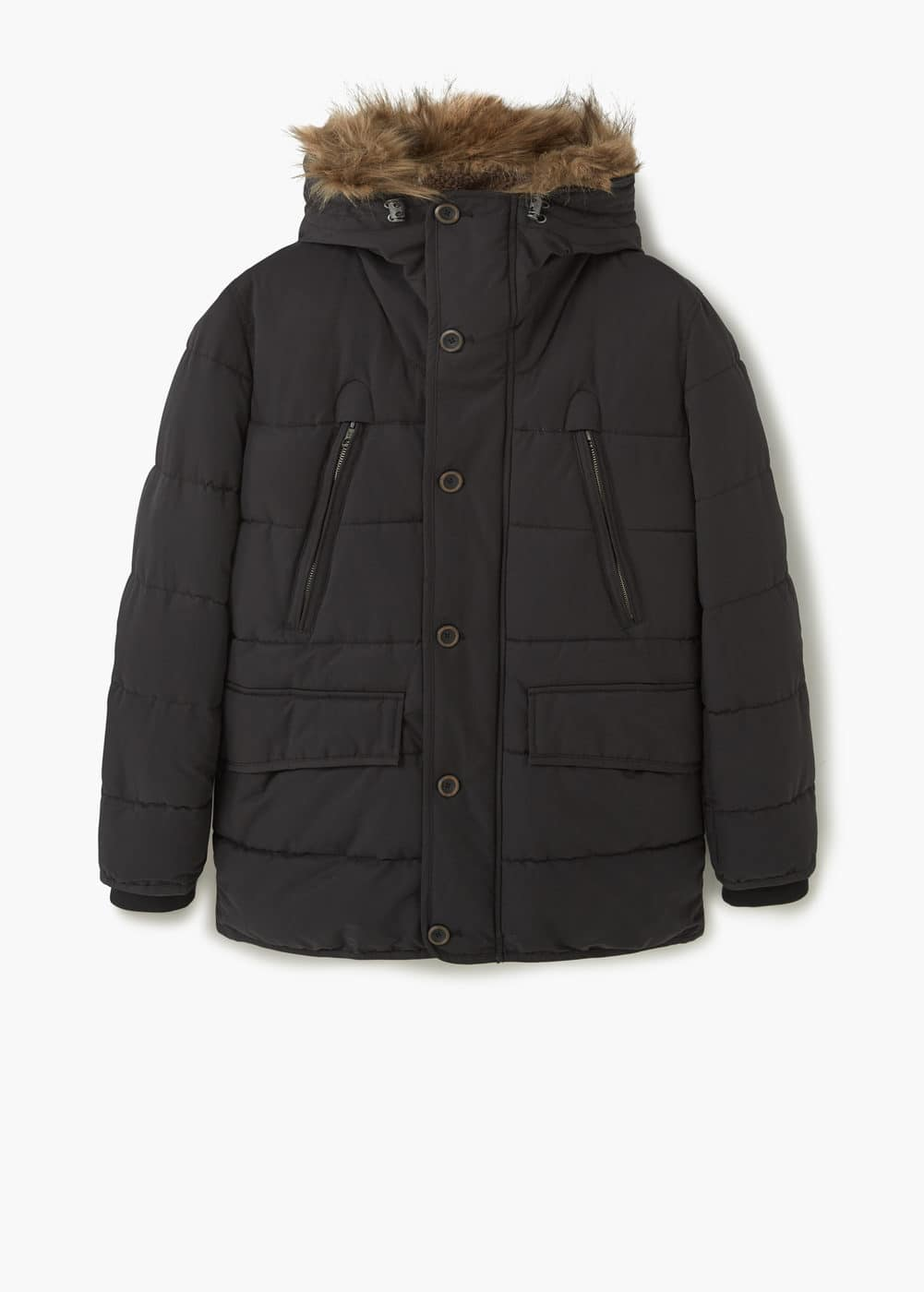 Cotton quilted jacket | MANGO
