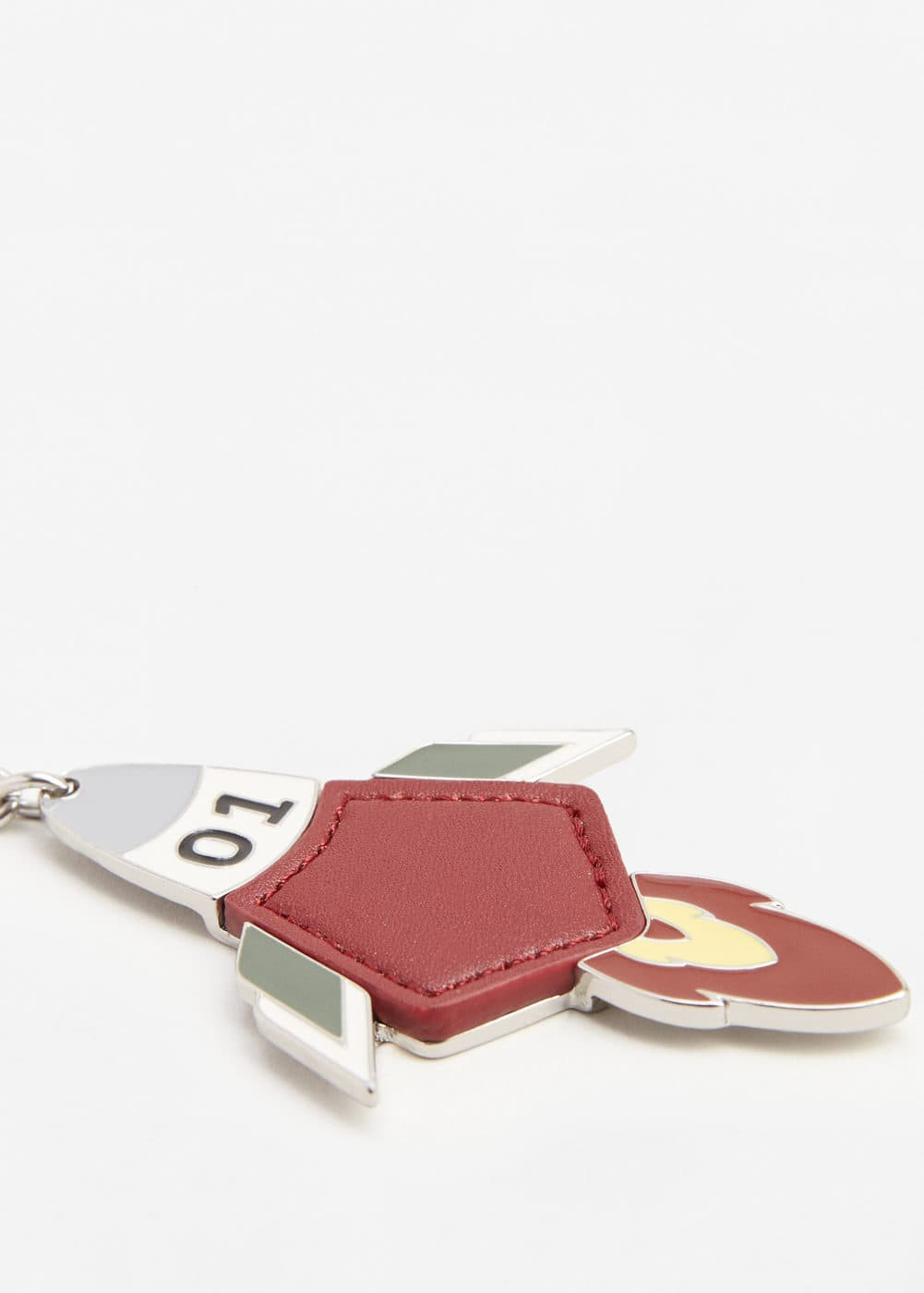 Metal plate key ring | MANGO