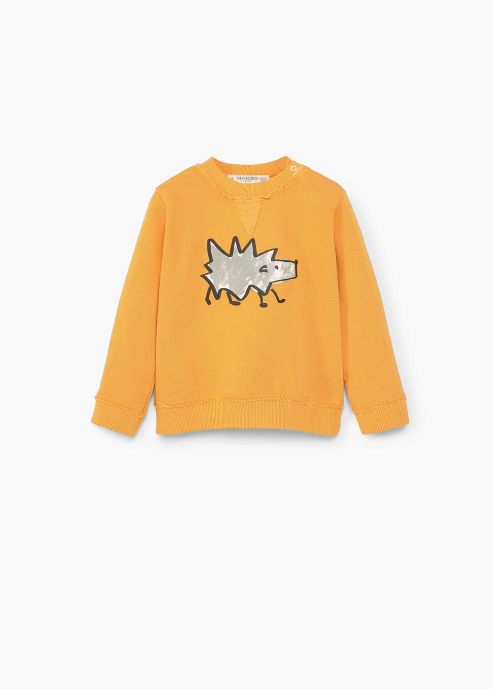 Baumwoll-sweatshirt mit cartoon | MANGO KIDS