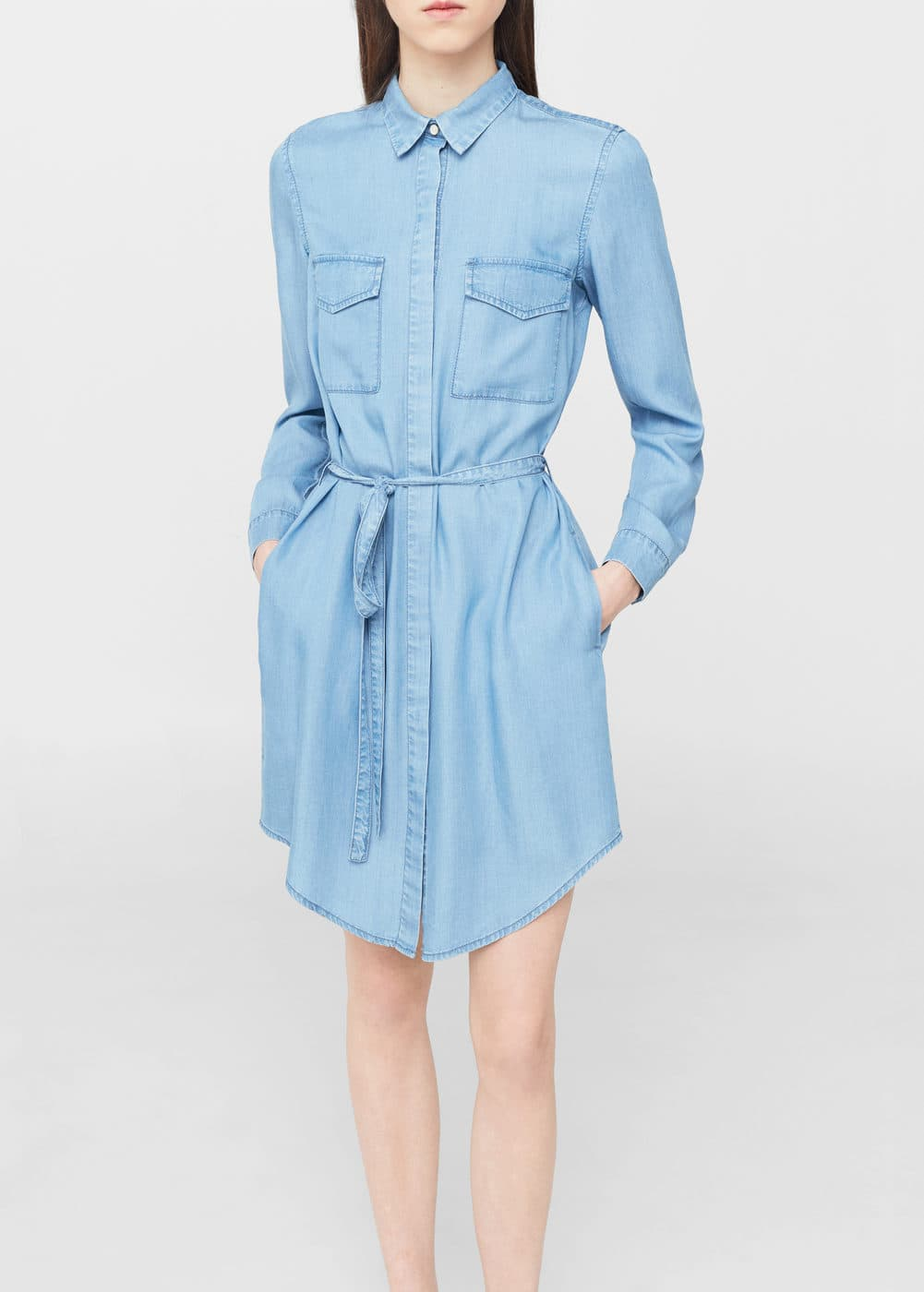 Denim shirt dress | MNG