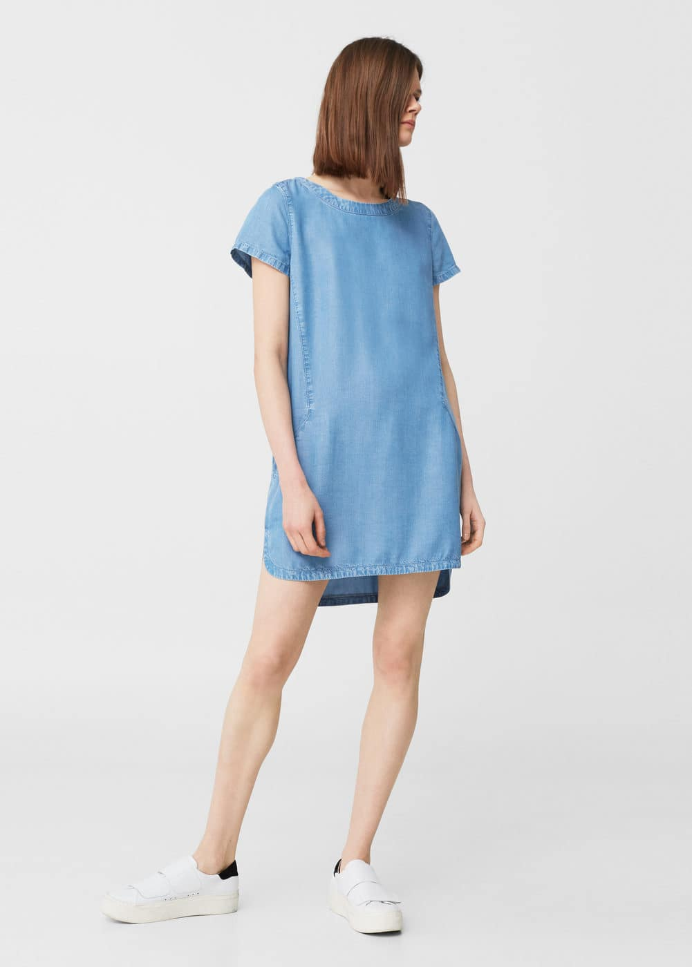 Denim dress | MANGO