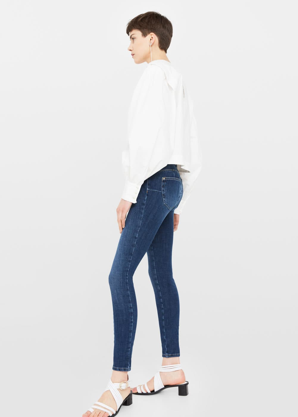 Texans skinny push-up irina | MANGO