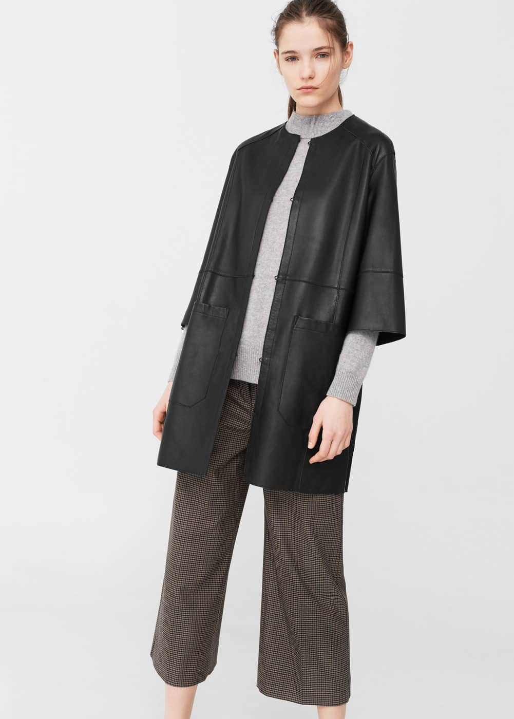 Leather coat | MNG