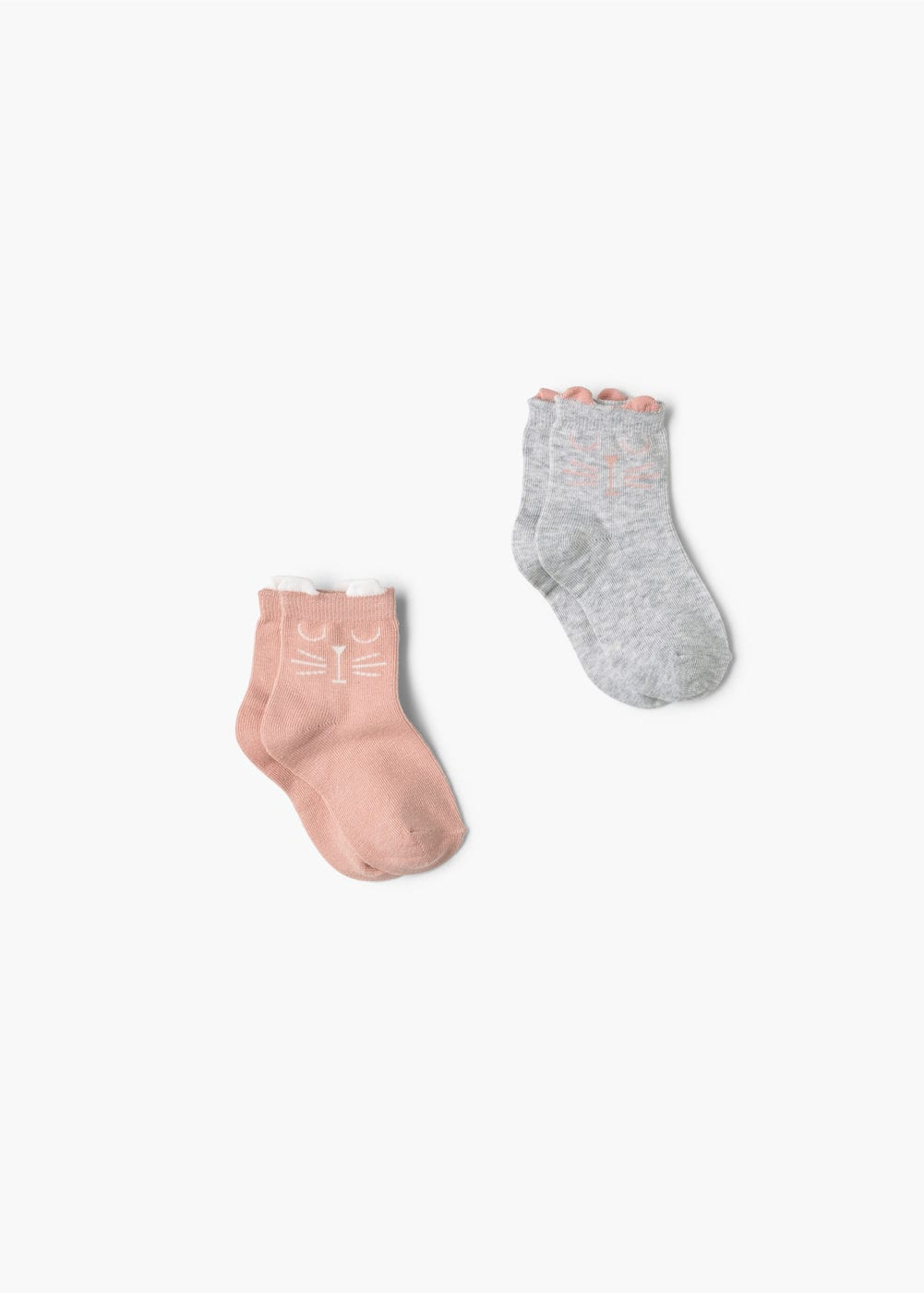 2 pack patterned socks | MANGO KIDS