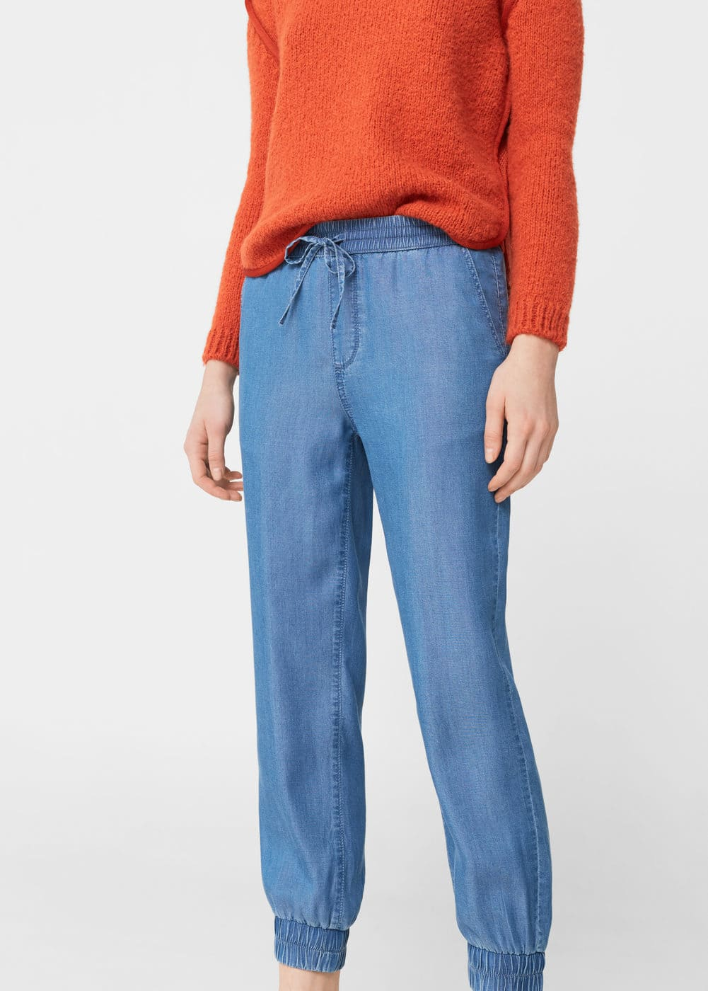 Denim trousers | MANGO