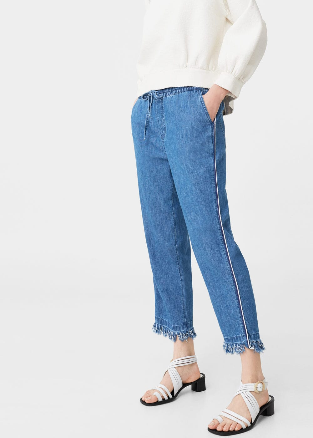 Relaxed jeans sporty | MANGO
