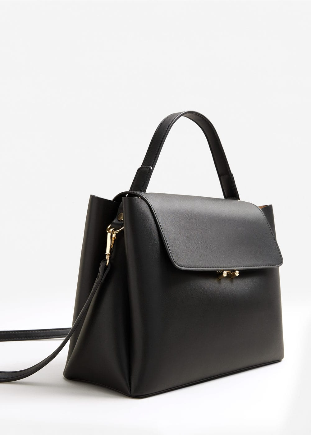 Flap tote bag - Women | MANGO USA