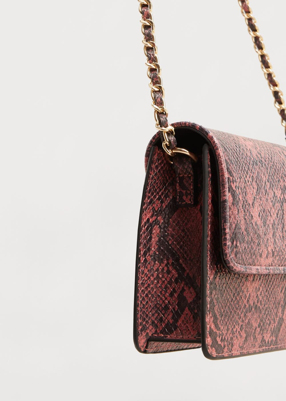 Snakeskin effect bag | MANGO