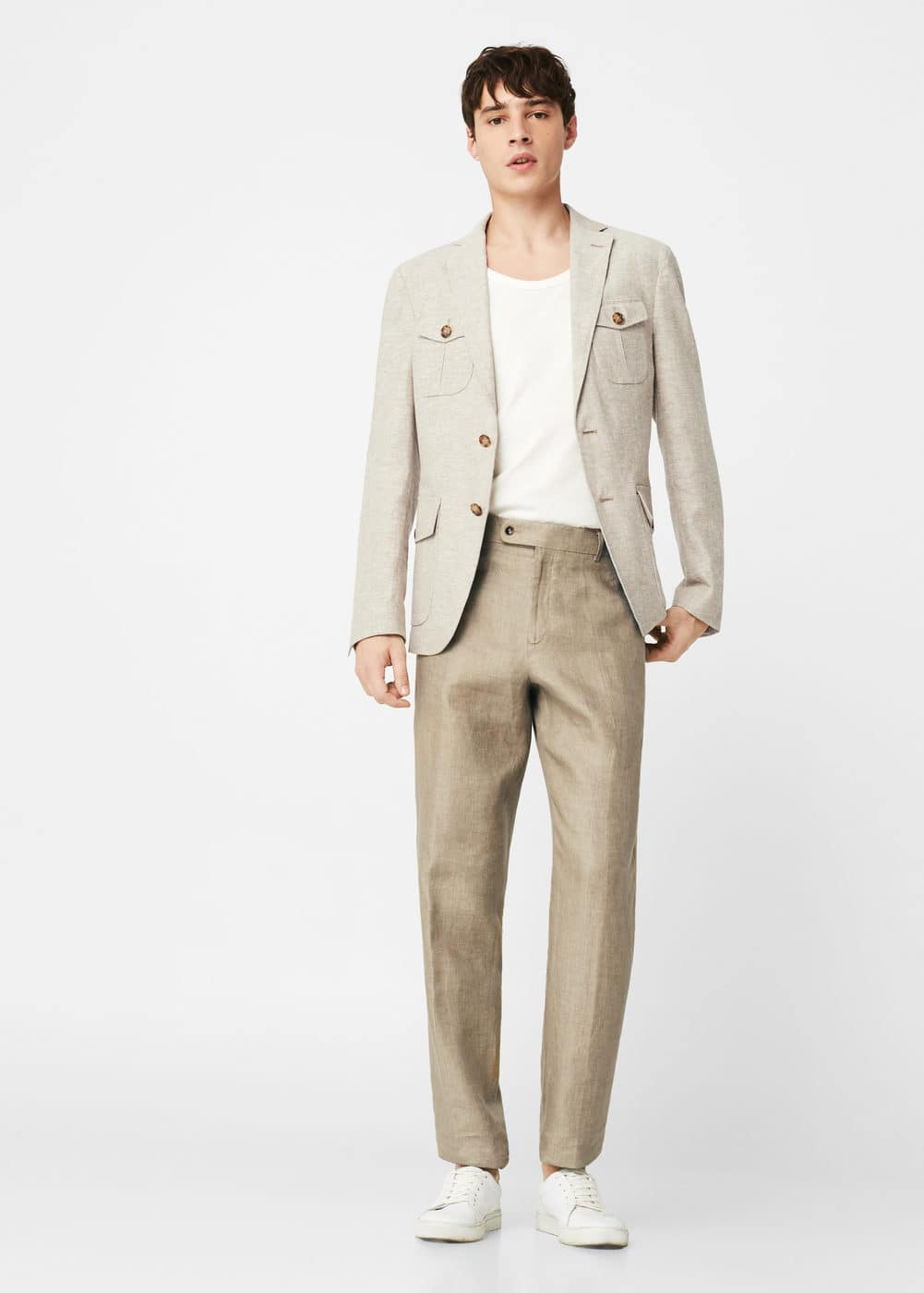 Americana slim-fit lli | MANGO MAN