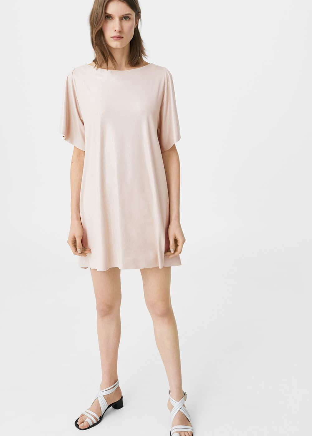 Faux suede dress | MANGO