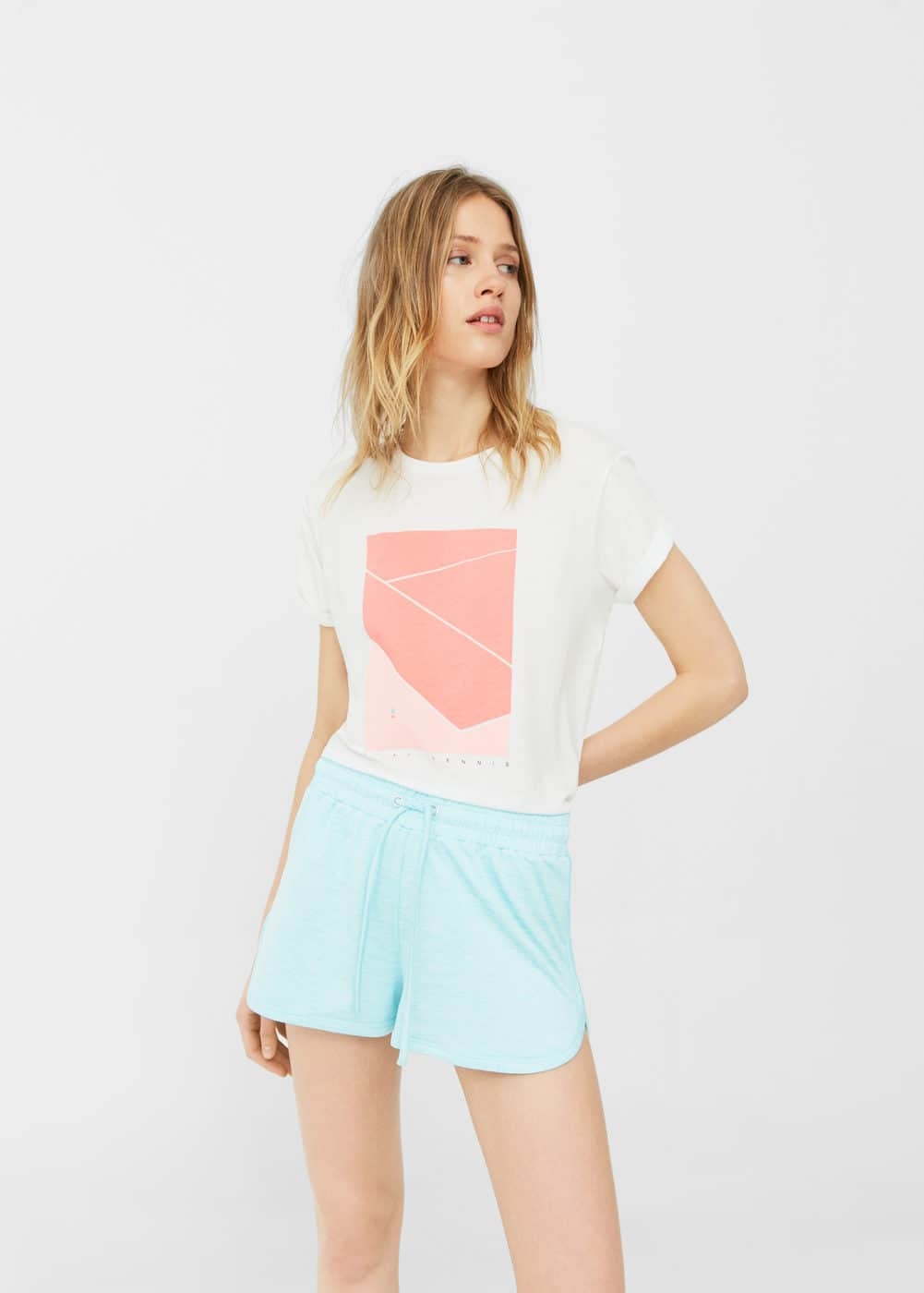 Flecked shorts | MANGO