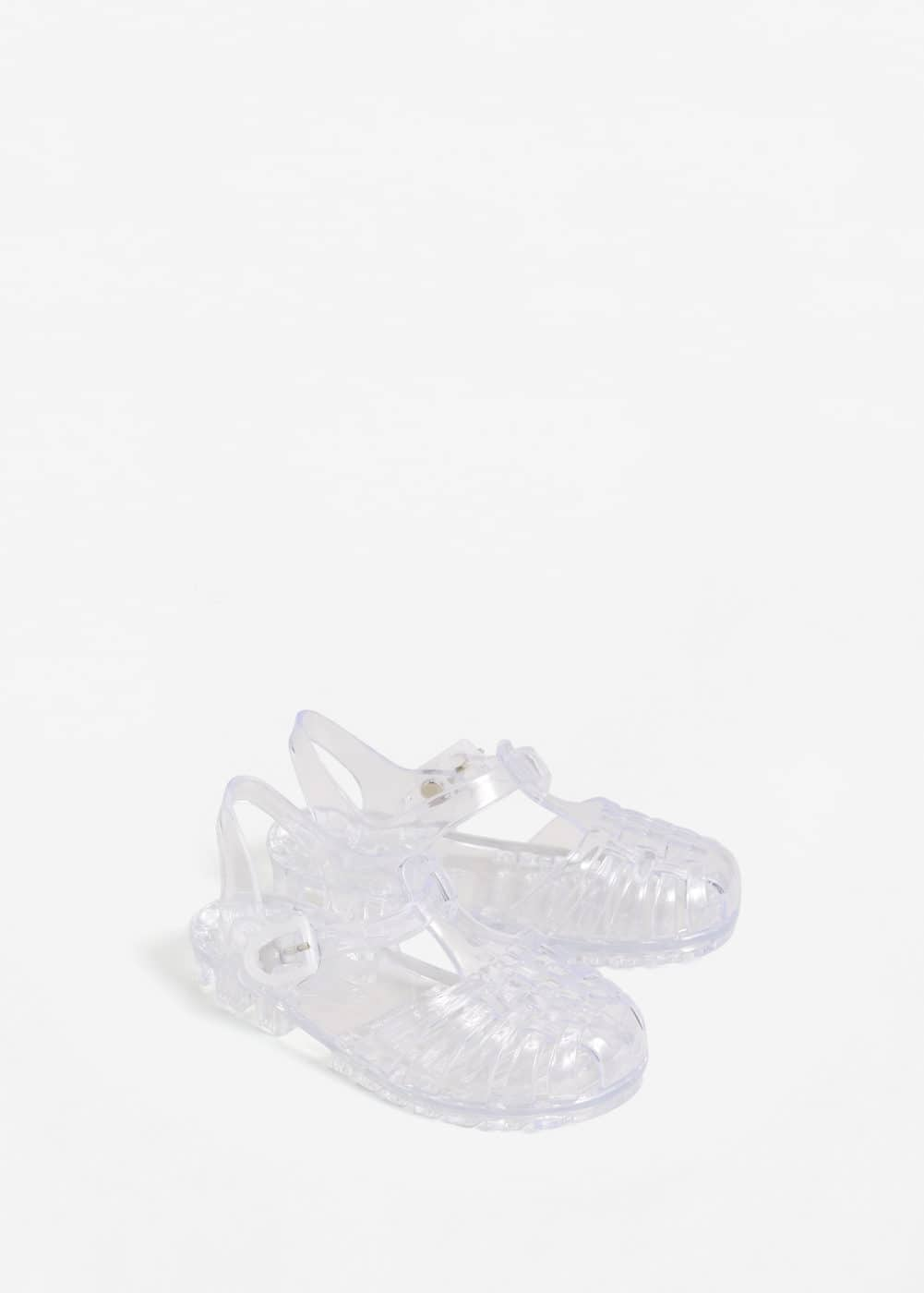See-trough jelly shoes | MANGO KIDS