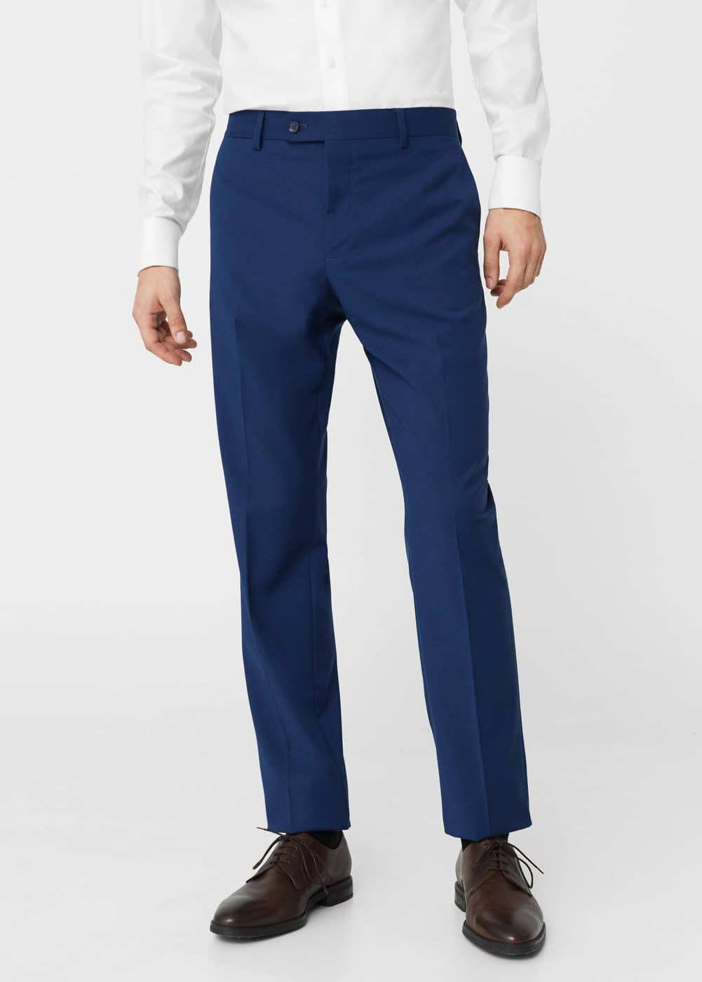 Slim-fit suit trousers | MANGO MAN