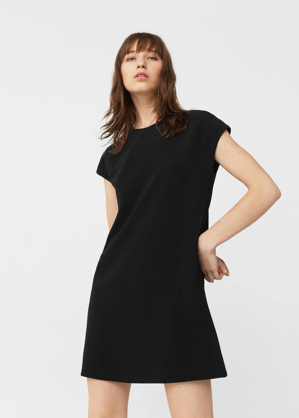 Flowy shift dress | MANGO