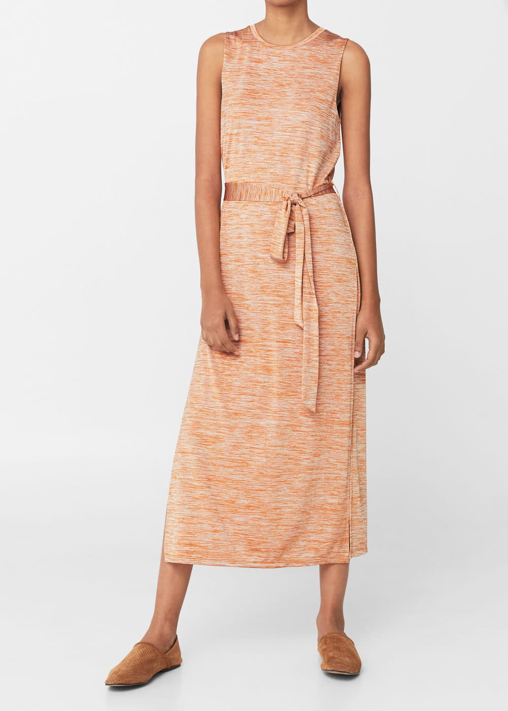 Flecked dress | MANGO