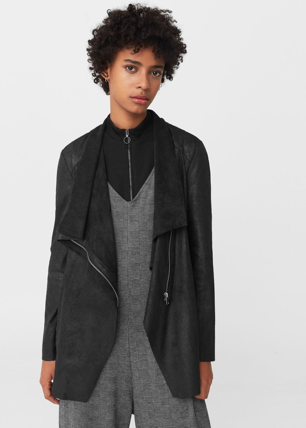 Waterfall jacket | MANGO