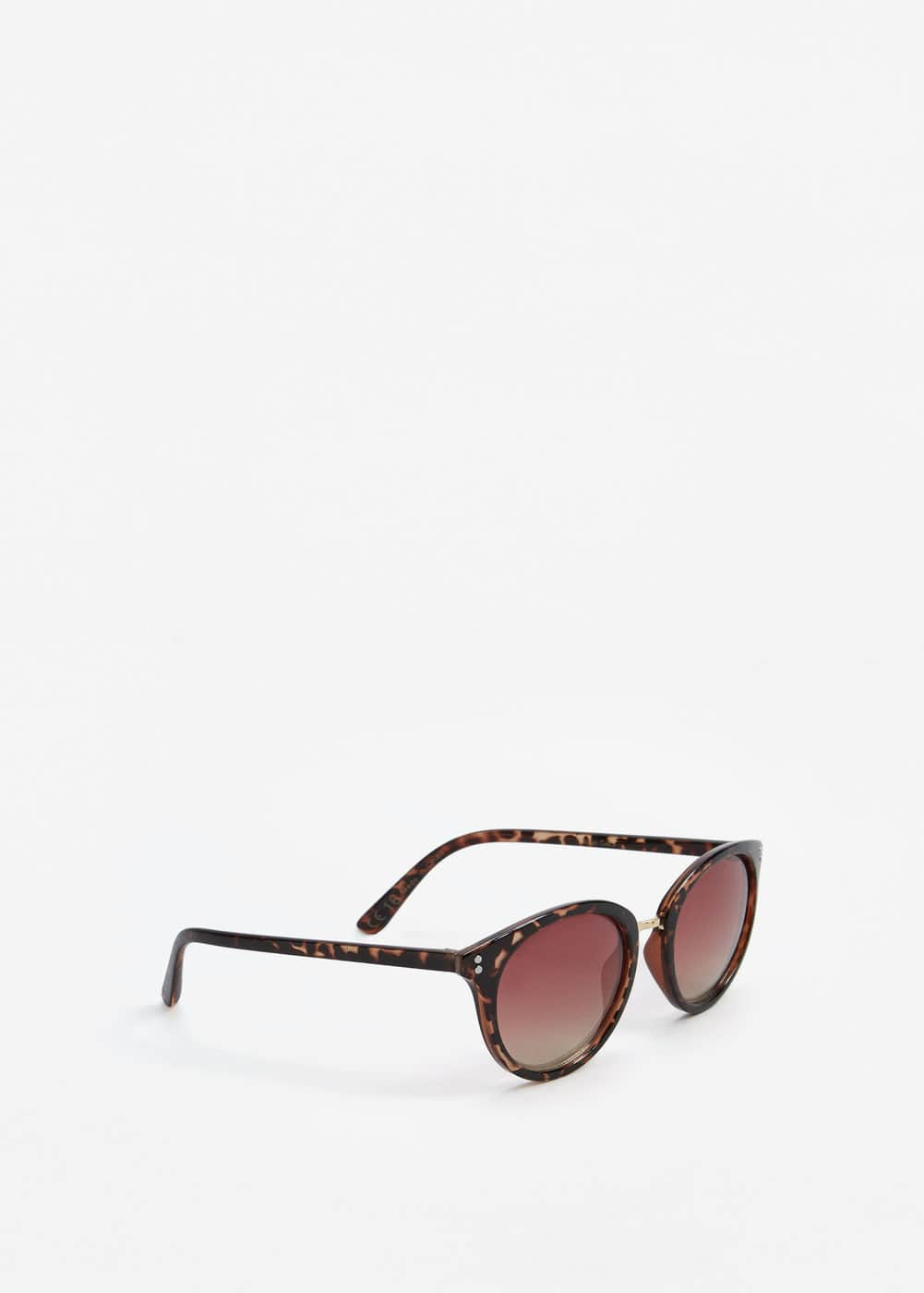 Round mirrored sunglasses | MANGO