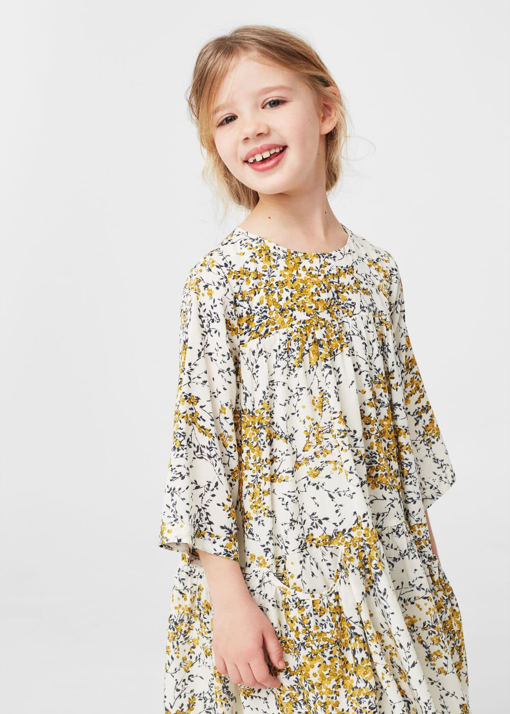 Floral print dress | MANGO KIDS