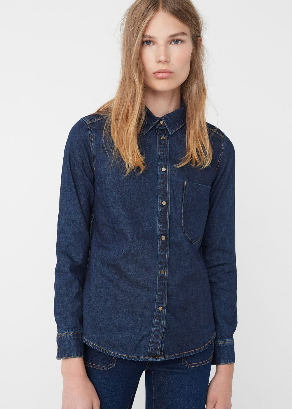 Denim shirt | MANGO