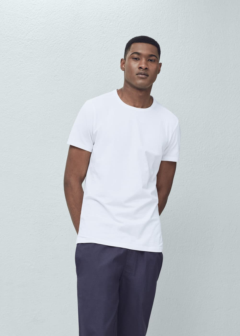 Cotton undershirt | MANGO MAN
