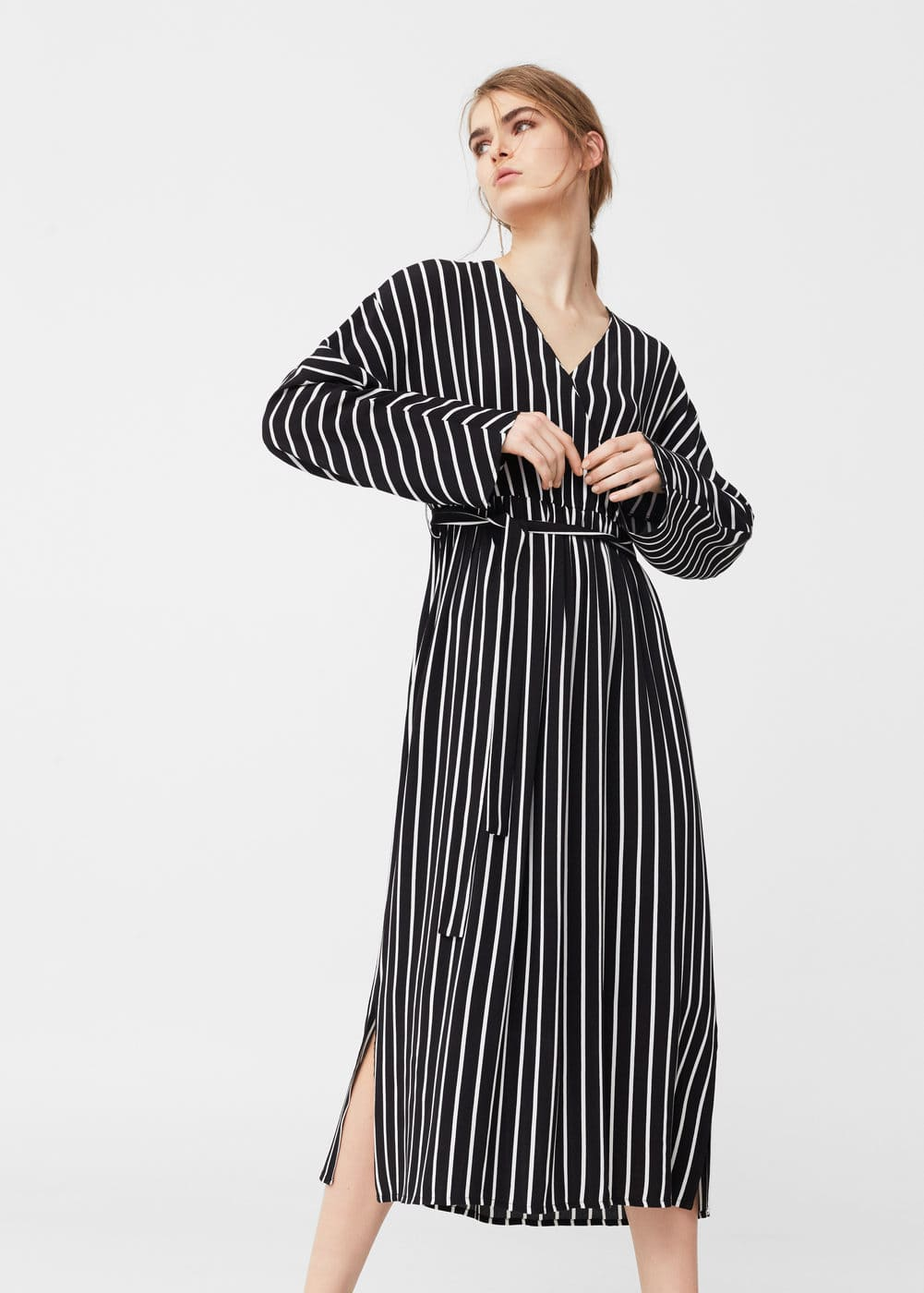 Flowy striped dress | MNG