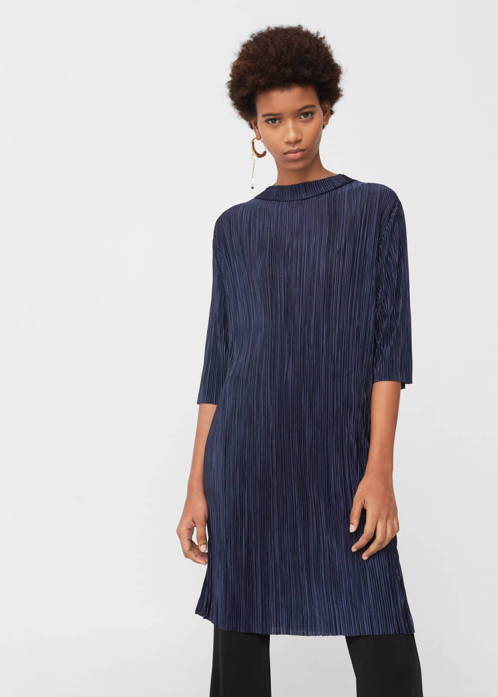 Pleated dress | MANGO