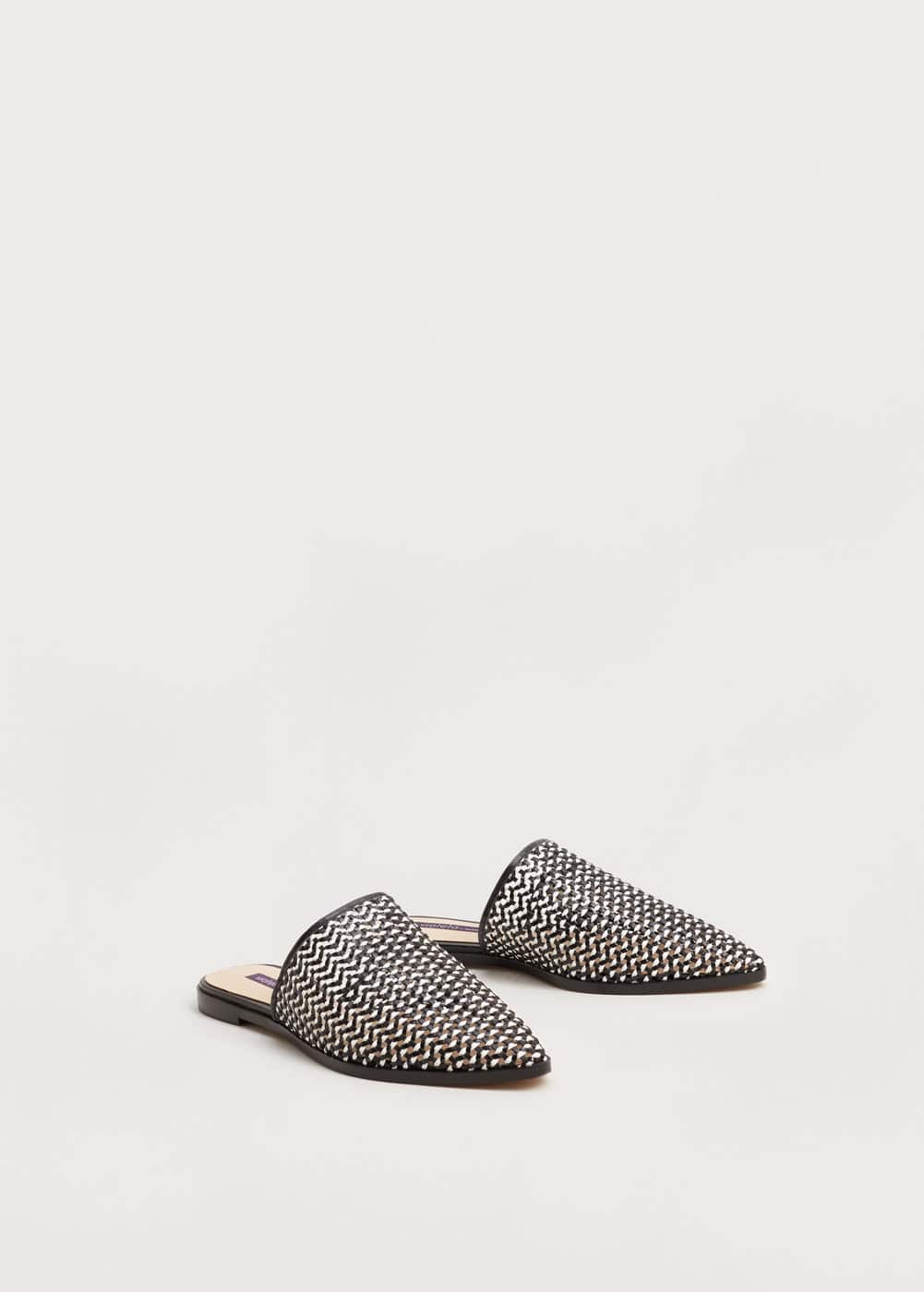 Braided shoes | VIOLETA BY MNG