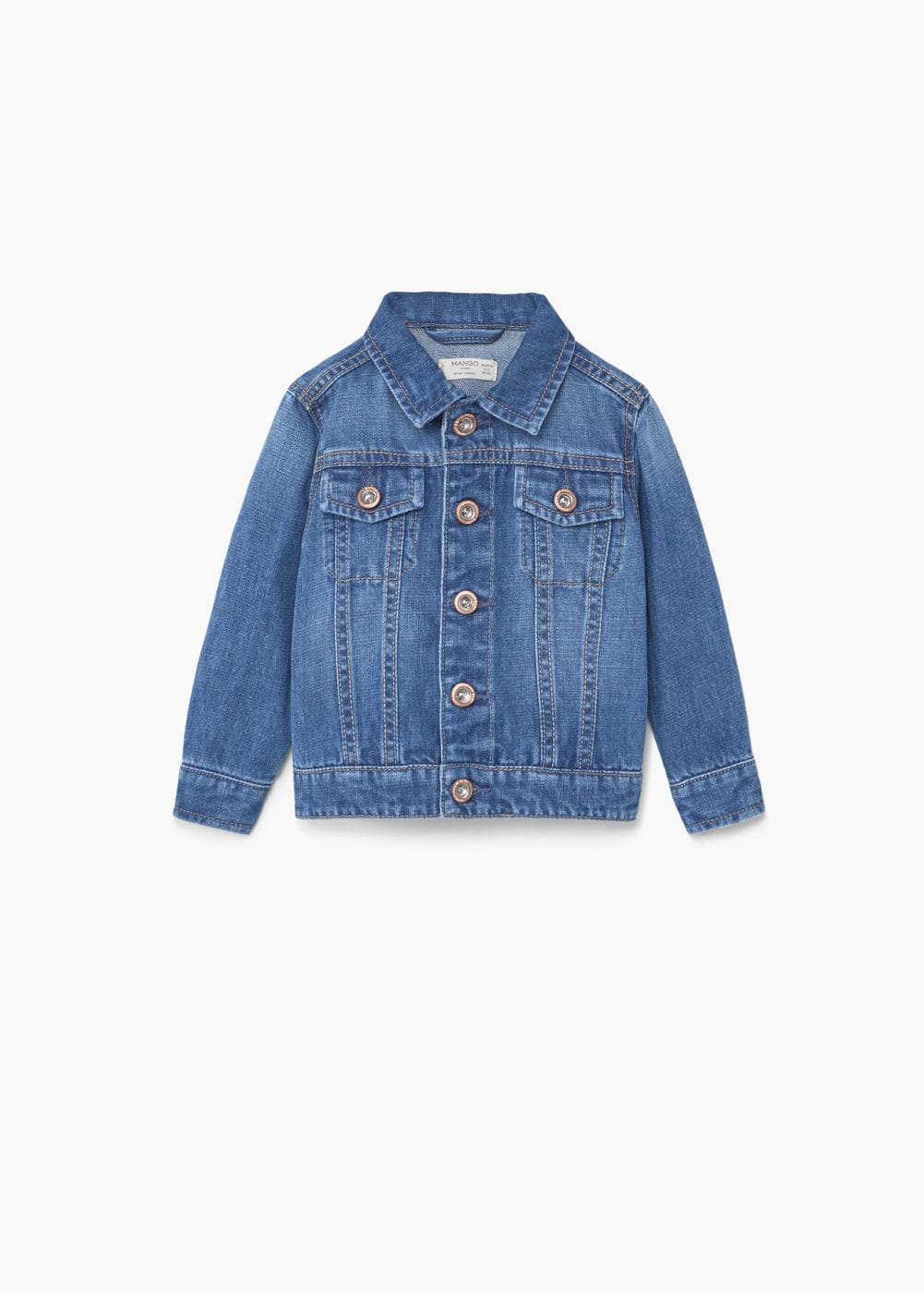 Medium denim jacket | MANGO