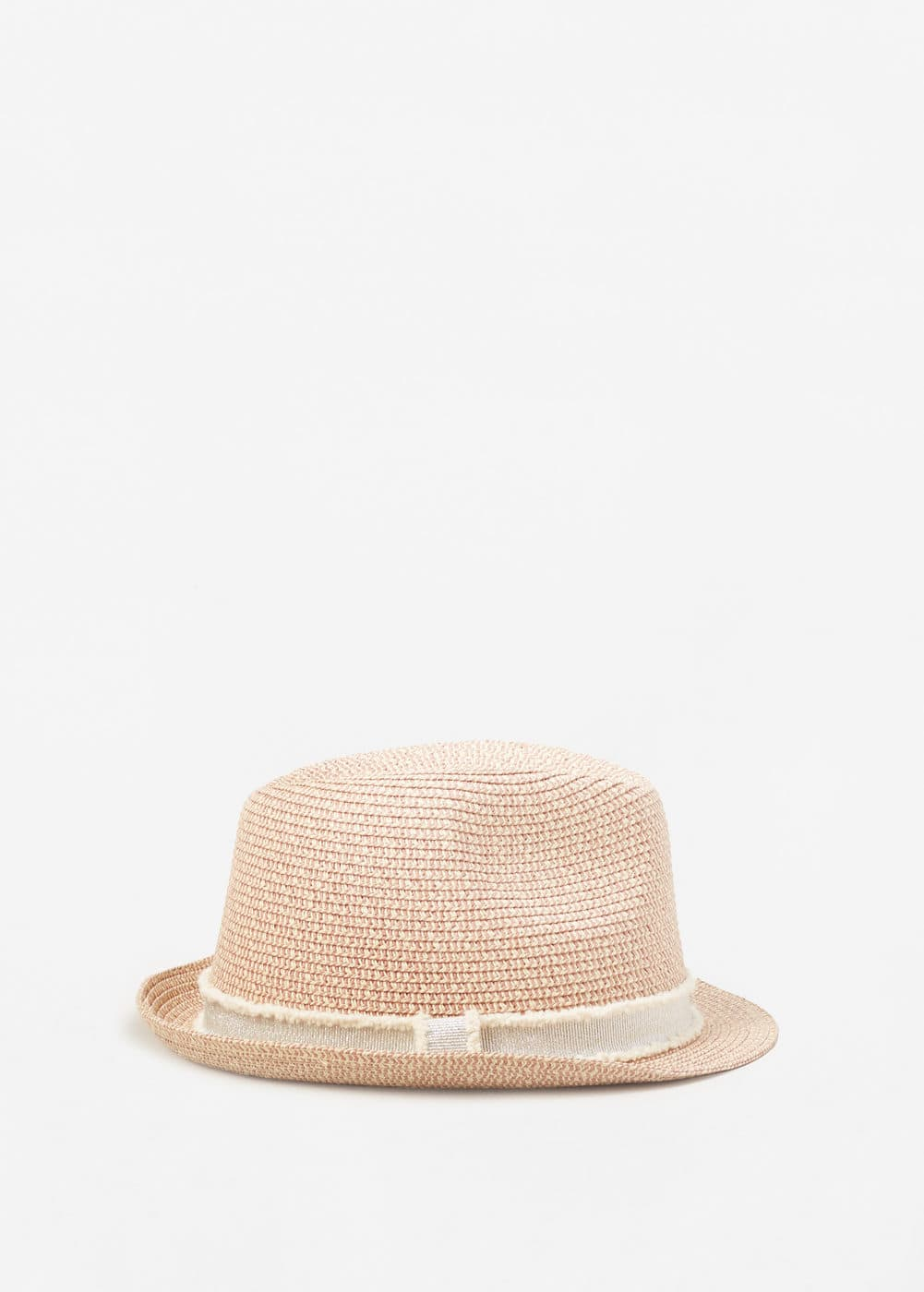 Contrast ribbon hat | MANGO KIDS