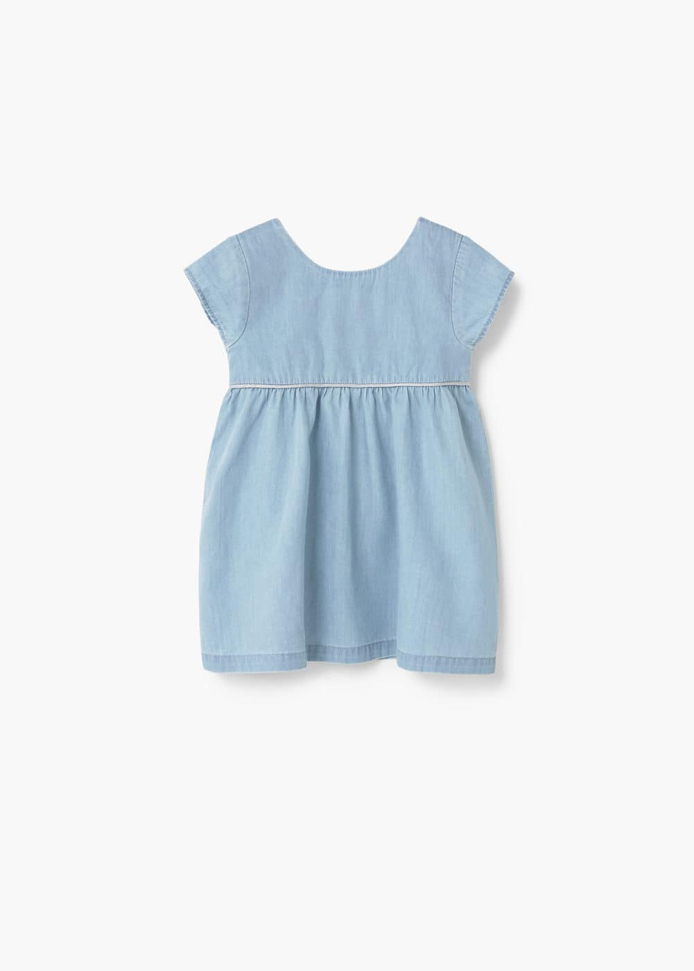 Vestido denim claro | MANGO KIDS