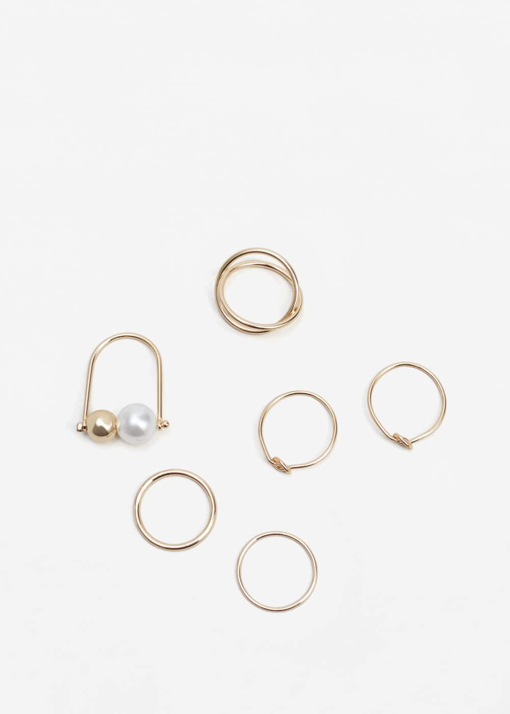 Slim ring set | MANGO