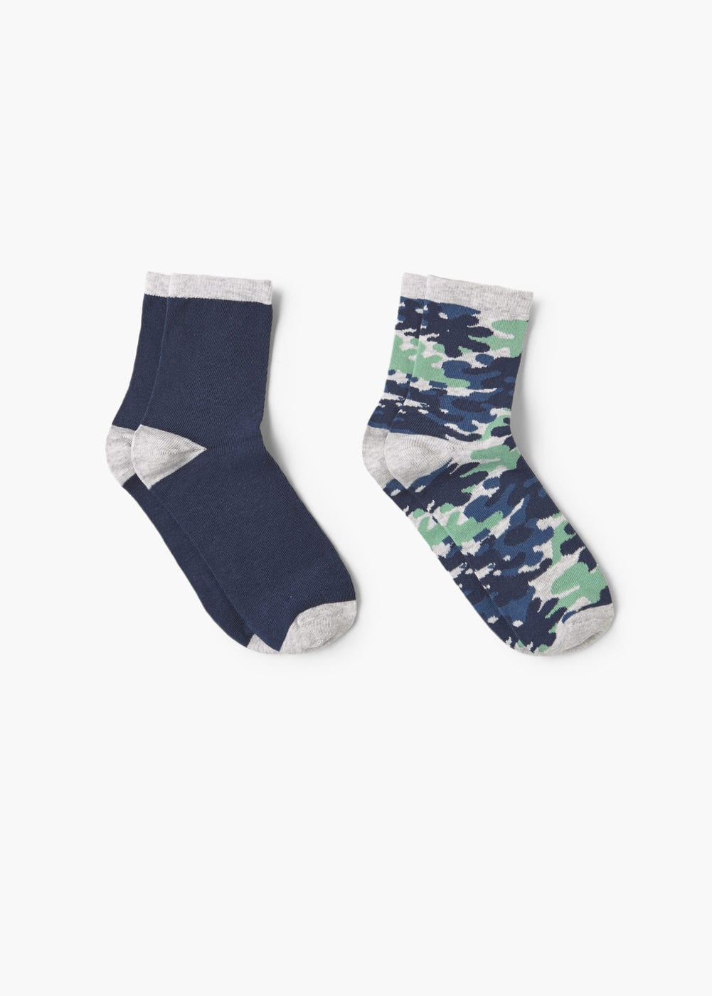 Camo print ankle socks pack | MANGO KIDS