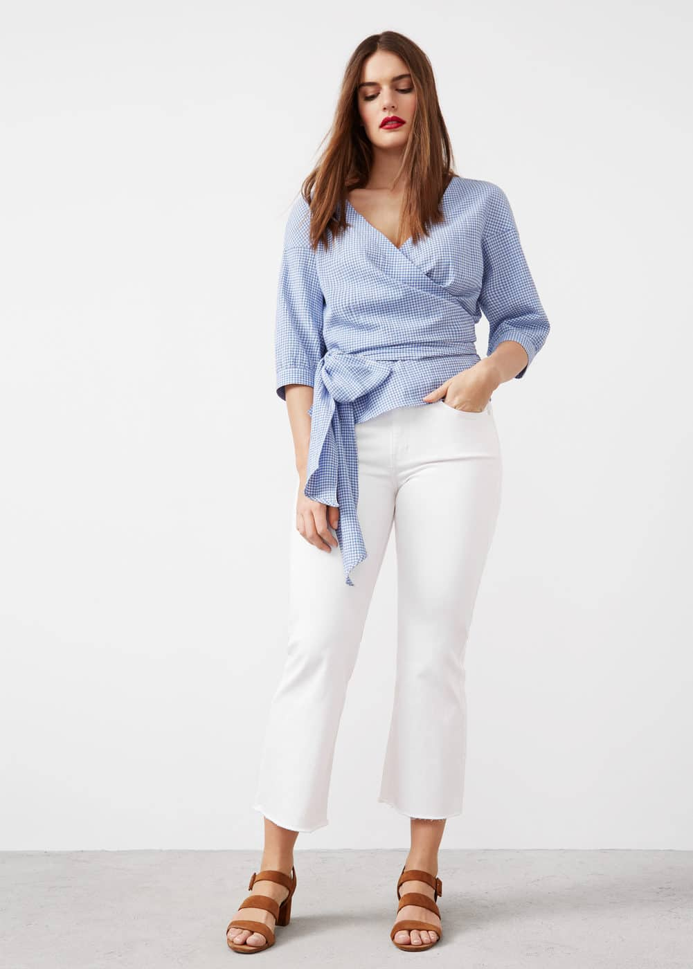 Flare crop jandri jeans | VIOLETA BY MNG
