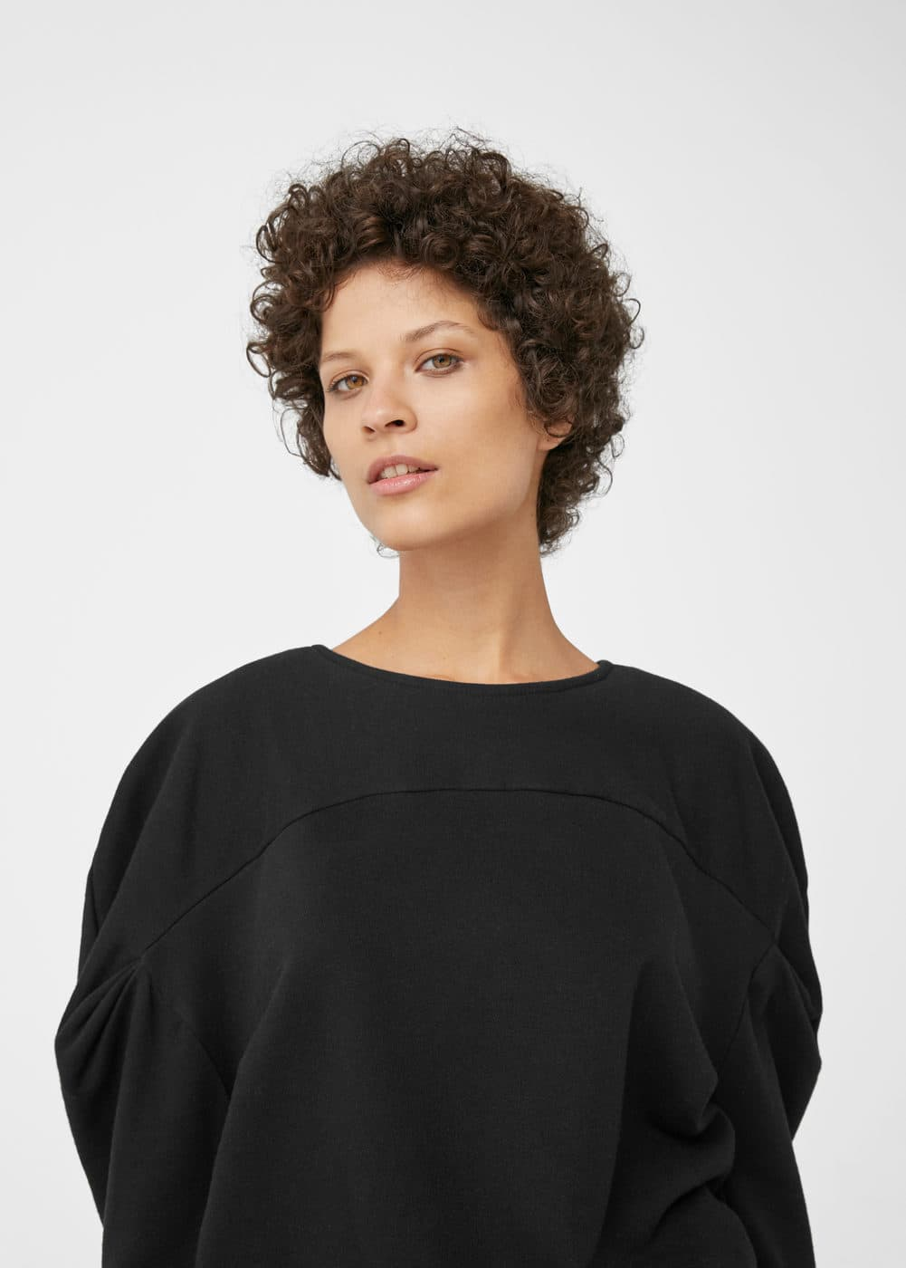 Organic cotton sweatshirt | MANGO